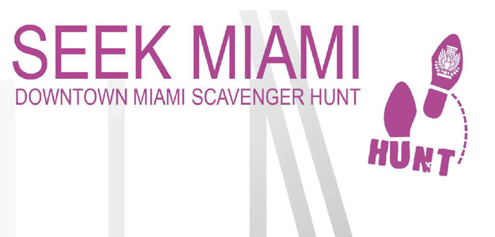 Miami Center for Architecture & Design Presents Seek Miami Scavenger Hunt