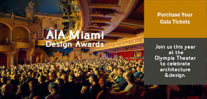 2017 AIA Miami Design Awards Gala