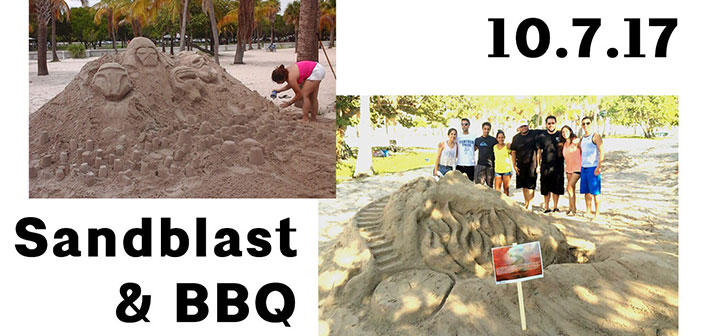 <strong>Cancelled Due to King Tides</strong><br>Sandblast!