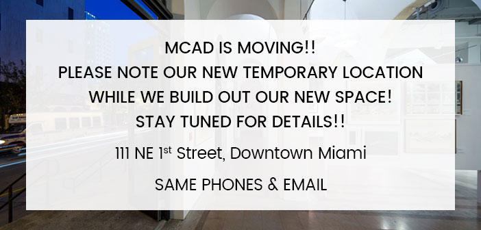 MCAD is Moving
