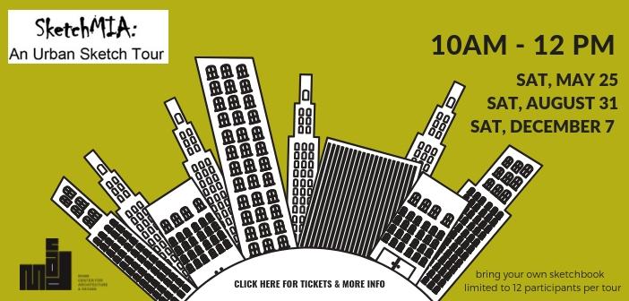 SketchMIA: An Urban Sketch Tour
