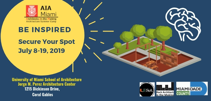 2019 Architecture in the Making Summer Camp