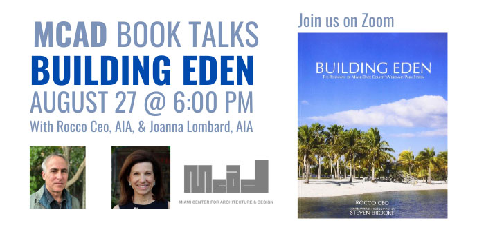 MCAD Book Talks:  Building Eden
