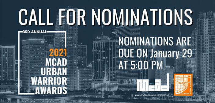 Urban Warrior Nominations Are Open