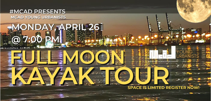 MCAD Young Urbanists present Full Moon Kayak Tour